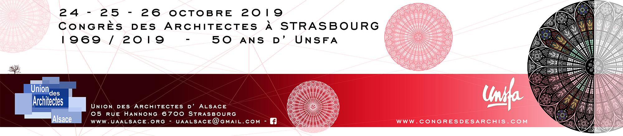 Congrès des architectes 2019
