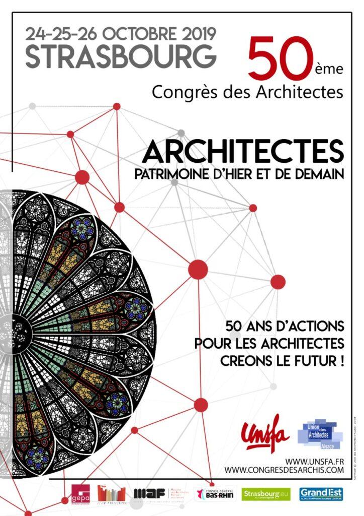 affiche congrès 2019 strasbourg